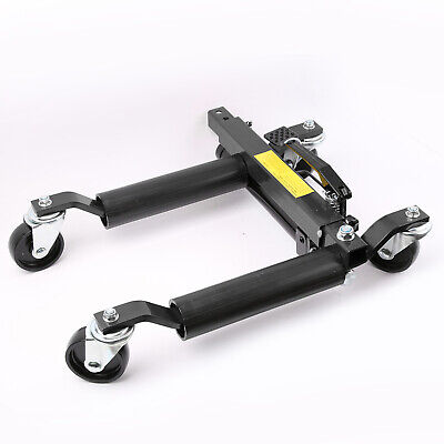 "12"" Vehicle Positioning Jacks Hydraulic Car Wheel Dollies Dolly Go Jack 1500lbs"