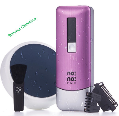 NO NO Pro 3 Hair Laser Removal System- Brand New & Sealed. UK SALE -Half Price