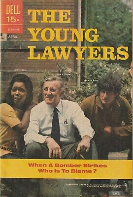 The Young Lawyers Number 2.  Dell Comics 1971. Tv Related.