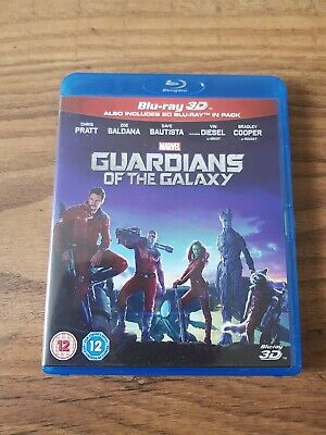 Guardians Of The Galaxy 3d Blu Ray (includes 2d Blu Ray)
