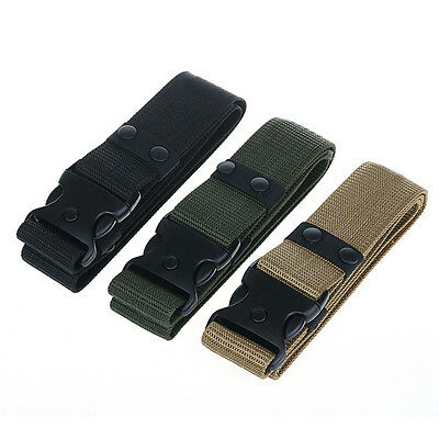 Combat Waistband Adjustable Survival Men Army Military Tactical Belts Heavy Duty