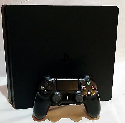 Sony Playstation 4 PS4 Slim Games Console 500GB HDR Jet Black