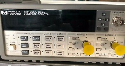 HP Agilent 53132A  frequency counter Option 012 Ultra Stabilita' ( 3Ghz opt )