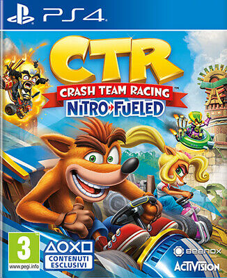 Crash Team Racing Nitro-Fueled (Fahren/Racing) PS4 PLAYSTATION 4
