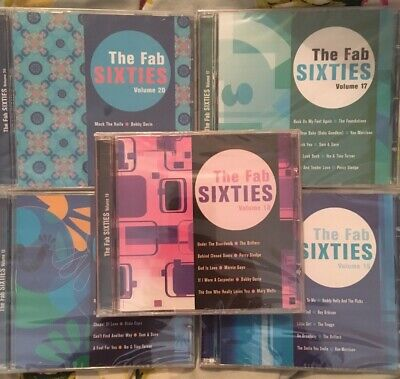 Various  - The Fab Sixties Vol.. 15 CD Brand New And Sealed