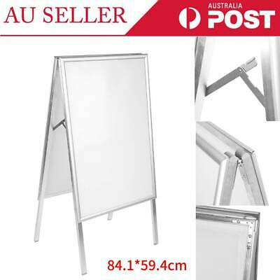 A1 Poster Display Stand Snap Poster Frame A-Board Double Sided Indicator Stand