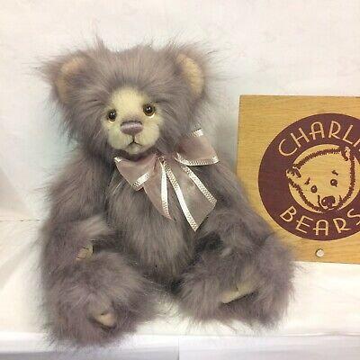Charlie Bears Jesse Plumo Bear - BNWT - OFFICIAL STOCKIST