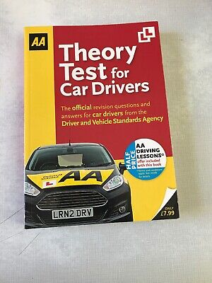 Theory Test for Car Drivers: AA Driving Test by AA Publishing (Paperback, 2011)
