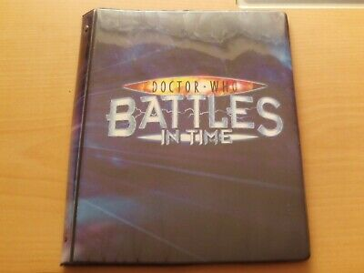 Doctor Who Battles In Time A4 Folder With 39 Cards