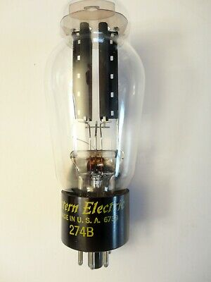274B Western Electric Rectifier Tube Audio Amplifier Headphone  WE Horn Phono