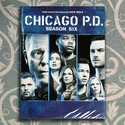 Chicago PD Season 6  (DVD, 5-Disc Set) Brand New Free Shipping USPS First Class