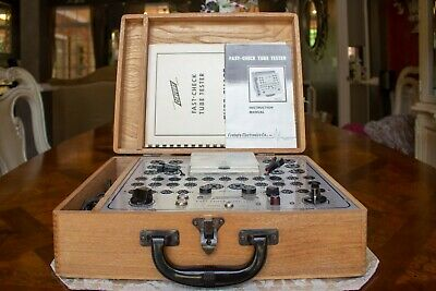 Century Model Fc-2 Fast Check Tube Tester Code 126 Wow