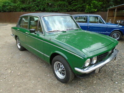 Triumph DOLOMITE SPRINT Stunning in Green, manual overdrive, drives superb