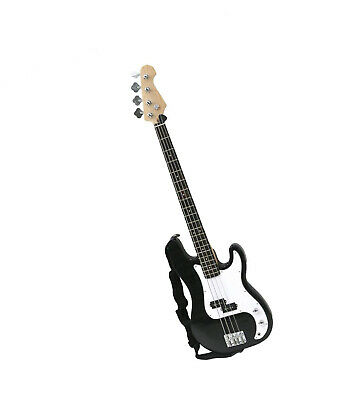 Oypla PB Precision Style Black 4 String Electric Bass Guitar
