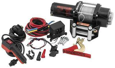 QuadBoss 3500LB ATV Winch RP35 with Steel Cable