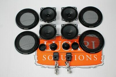 Audison Stage 2 component speaker + tweeter upgrade set Fits Land Rover Defender