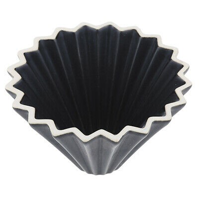 Ceramic Coffee Filter Pour Over Coffee Dripper Cone Reusable Black