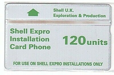 UK - Shell Expro Installation Card Phone 120 Units SN 232D  - Used/Usagée