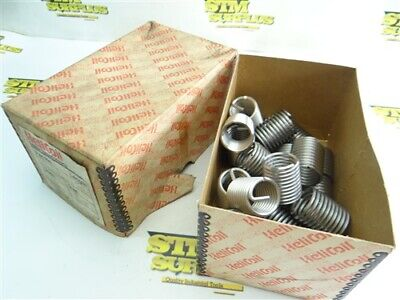 """New Lot Of 20 Helicoil Thread Repair Inserts 1""""-8"""