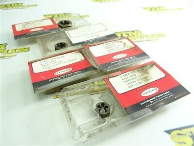 """5 New! Assorted Cleveland Hss Hex Dies 1/4""""-28Nf 3/8""""-24Nf & 9/16""""-18Nf"""