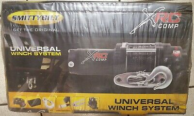 Smittybilt XRC3 Comp Winch with Synthetic Rope - 98203