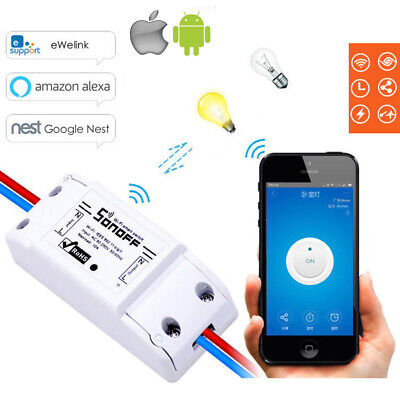 Smart Sonoff Basic WiFi Switch Module Home Wireless IOS Android APP Control RT