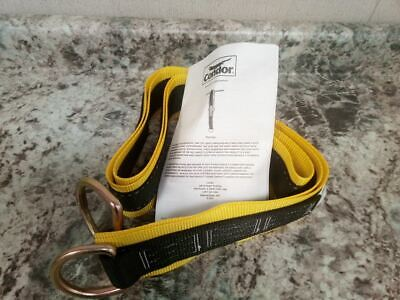 Condor 30HG92 425 Lbs 8 In L 3 In W Plyester Anchor Sling