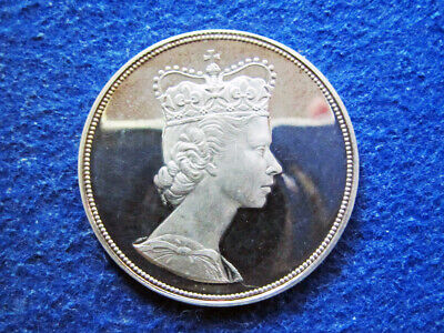 """Canada Silver Proof Medal - """"For Love of the Queen"""" - Free U S Shipping"""