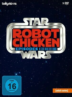 Robot Chicken Star Wars - Episode I and II and III  [3 DVDs]