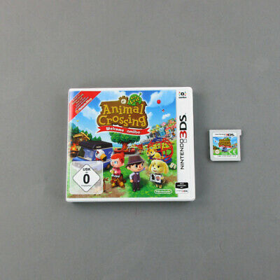 Nintendo 3DS Spiel Animal Crossing New Leaf - Welcome Amiibo in Ovp