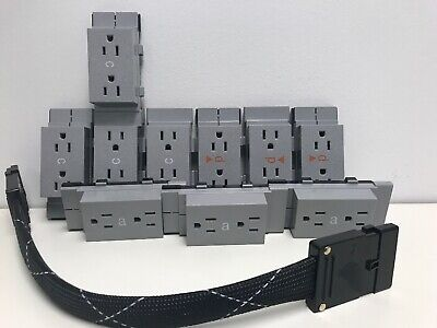 Hemman Miller Bundle Receptacle Duplex 15 Amp | 4 c | 3 d | 3 a types & cable