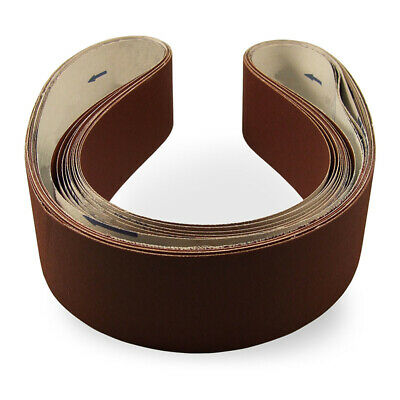 Sanding Belts Aluminum Oxide Flexible Grinding Abrasive Tool Replacement