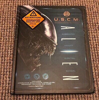 USCM Aliens Augmented Reality Survival Guide Book