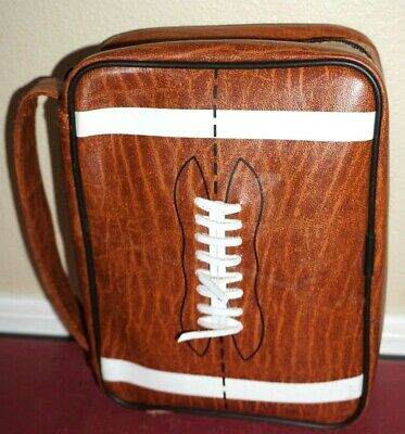 Scripture Case Football Regular Size Bible/Triple Quad Cover LDS Mormon Tote