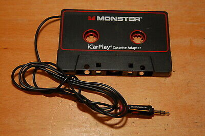 Monster iCarPlay Cassette Adapter for iPod and iPhone