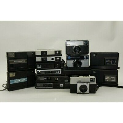 Kodak Camera Set of 13 Film Cameras