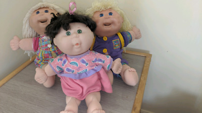 Cabbage patch kids Rare X3