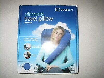 Inflatable Travel Pillow open box!