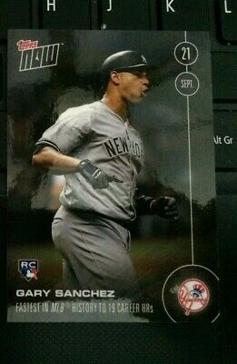 2019 Topps Now Gary Sanchez card # 486