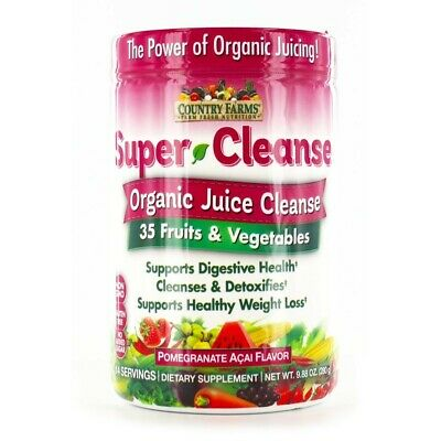 JUICE CLEANSE DETOX by Raw Fountain Juice - Fresh Natural