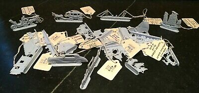 Nabisco Premium ~ Parade of Transportation Figures ~ Blue ~ Lot of 21 ~ 1950s