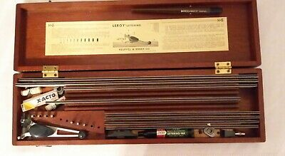 Keuffel & Esser Co. Leroy Lettering Set  Vintage 1950'S Drafting Tool