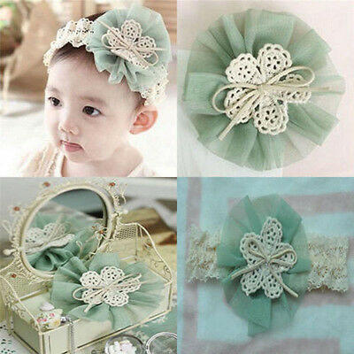 Lace Flower Kids Baby Girl Toddler Headband Hair Band Headwear Accessories 1PC