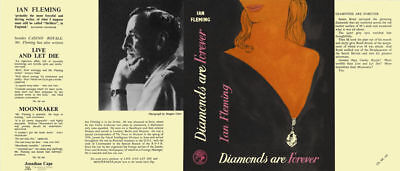 Fleming-Fac. DJ for 1st UK ed. of DIAMONDS ARE FOREVER