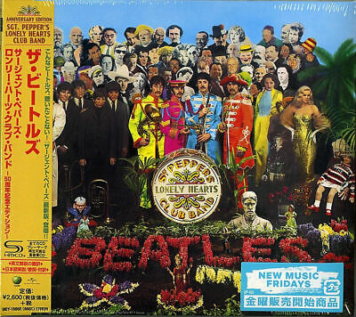 Beatles-Sgt. Pepper's Lonely Hearts Club Band-Japan Shm-Cd F83