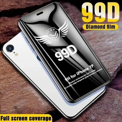 99D Full Tempered Glass Screen Protector Film For iPhone XS Max X XR 7 8 6s Plus