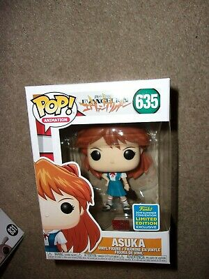 Funko Pop Asuka Neon Genesis Evangelion 635 SDCC Shared Exclusive! IN HAND!