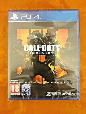 Call of Duty: Black Ops 4 (PS4) - FREE POST - BRAND NEW