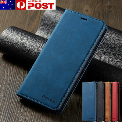 iPhone 7 8 Plus X XS Max XR 6S 5S SE 11 Pro Max Case, Leather Wallet Flip Cover