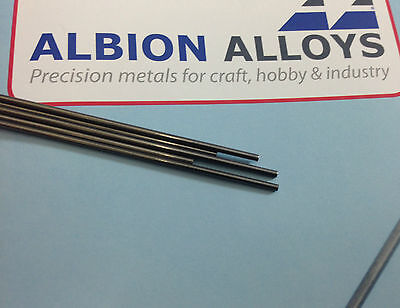 1.2mm piano wire 5 pieces 1 meter long. PW4XM